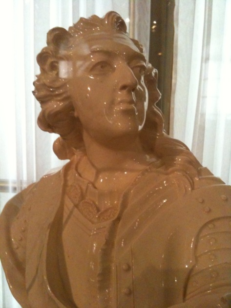 Bust of Louis XV, father-in-law to Marie Antoinette and notorious lecher