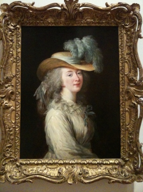 Portrait of Madame du Barry, mistress of Louis XV, by Elizabeth Vigee-Le Brun